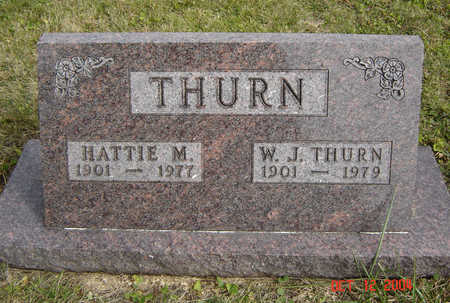 THURN, HATTIE M. - Clayton County, Iowa | HATTIE M. THURN