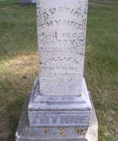 THYNNE, WILLIAM - Clayton County, Iowa | WILLIAM THYNNE