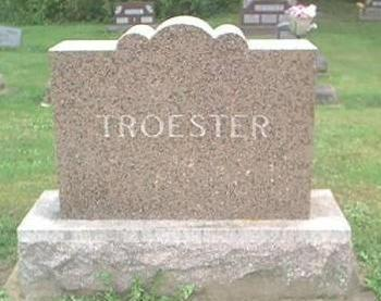 TROESTER, FAMILY MONUMENT - Clayton County, Iowa | FAMILY MONUMENT TROESTER