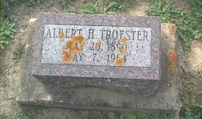 TROESTER, ALBERT H. - Clayton County, Iowa | ALBERT H. TROESTER