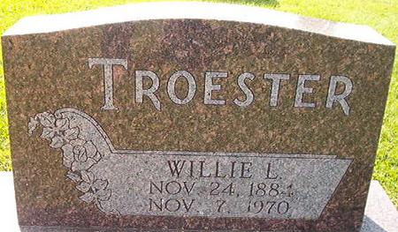 TROESTER, WILLIE L. - Clayton County, Iowa | WILLIE L. TROESTER