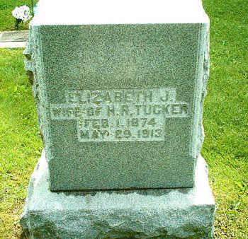 TUCKER, ELIZABETH J. - Clayton County, Iowa | ELIZABETH J. TUCKER