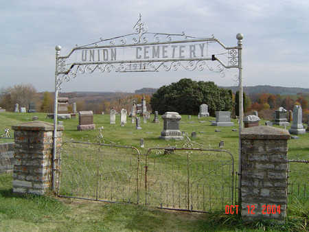 UNION, CEMETERY - Clayton County, Iowa | CEMETERY UNION