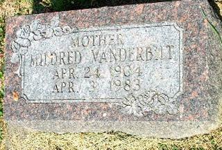 VANDERBILT, MILDRED - Clayton County, Iowa | MILDRED VANDERBILT