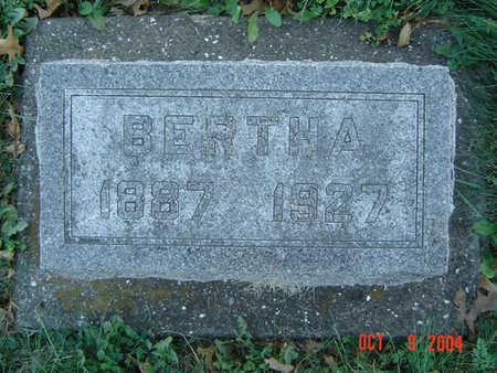 VONTALGE, BERTHA - Clayton County, Iowa | BERTHA VONTALGE