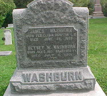 WASHBURN, JAMES - Clayton County, Iowa | JAMES WASHBURN