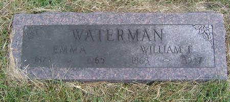 JASTER WATERMAN, EMMA - Clayton County, Iowa | EMMA JASTER WATERMAN