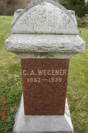 WEGENER, CHARLES A. - Clayton County, Iowa | CHARLES A. WEGENER