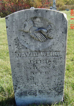 WEIR, DAVID - Clayton County, Iowa | DAVID WEIR