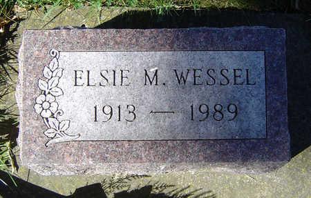 WESSEL, ELSIE M. - Clayton County, Iowa | ELSIE M. WESSEL
