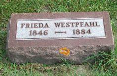 HOTH WESTPFAHL, FRIEDA - Clayton County, Iowa | FRIEDA HOTH WESTPFAHL