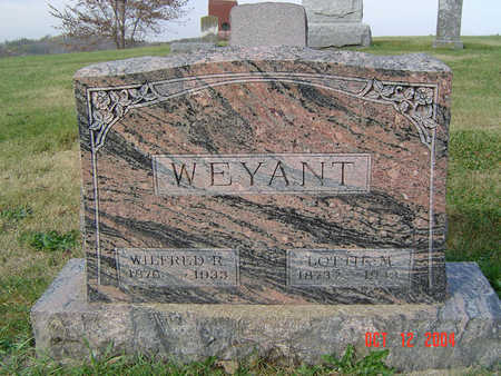 WEYANT, WILFRED R. - Clayton County, Iowa | WILFRED R. WEYANT