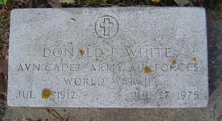 WHITE, DONALD F. - Clayton County, Iowa | DONALD F. WHITE