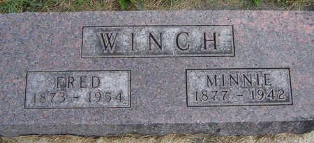 WINCH, MINNIE - Clayton County, Iowa | MINNIE WINCH