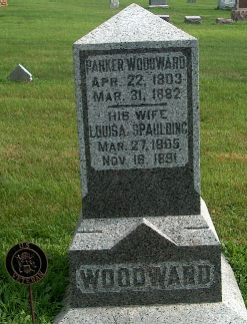 WOODWARD, LOUISA - Clayton County, Iowa | LOUISA WOODWARD