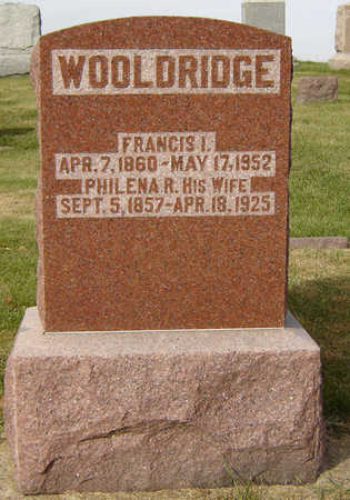 WOOLDRIDGE, FRANCIS I. - Clayton County, Iowa | FRANCIS I. WOOLDRIDGE