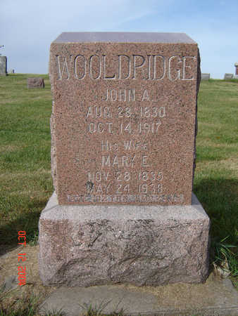 WOOLDRIDGE, JOHN A. - Clayton County, Iowa | JOHN A. WOOLDRIDGE