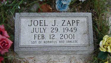 ZAPF, JOEL - Clayton County, Iowa | JOEL ZAPF