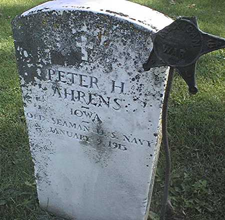 AHRENS, PETER H. - Clinton County, Iowa | PETER H. AHRENS