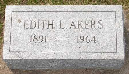 AKERS, EDITH L. - Clinton County, Iowa | EDITH L. AKERS