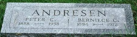 ANDRESEN, PETER & BERNICE - Clinton County, Iowa | PETER & BERNICE ANDRESEN