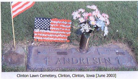ANDRESEN, WILLIAM - Clinton County, Iowa | WILLIAM ANDRESEN