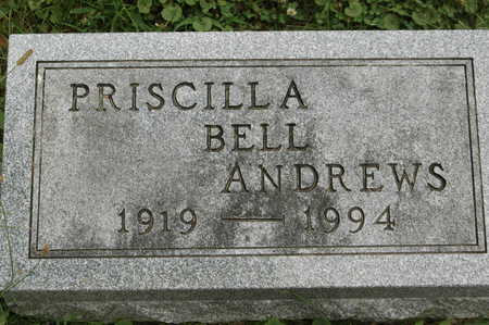 BELL ANDREWS, PRISCILLA - Clinton County, Iowa | PRISCILLA BELL ANDREWS
