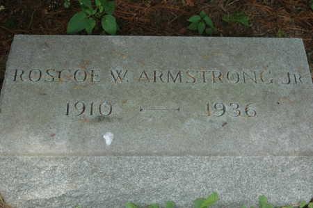 ARMSTRONG, ROSCOE WHALEN JR. - Clinton County, Iowa | ROSCOE WHALEN JR. ARMSTRONG