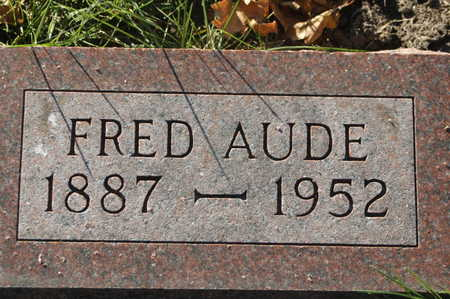 AUDE, FRED - Clinton County, Iowa | FRED AUDE