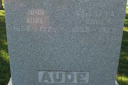 AUDE, JOHN - Clinton County, Iowa | JOHN AUDE