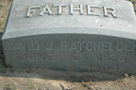 BATCHELDER, DAVID J. - Clinton County, Iowa | DAVID J. BATCHELDER