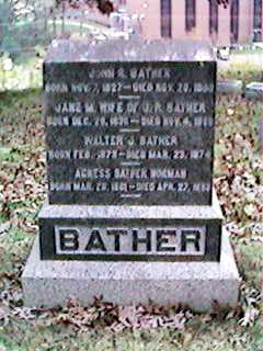 BATHER, WALTER - Clinton County, Iowa | WALTER BATHER