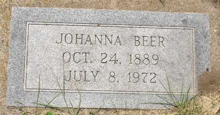 BEER, JOHANNA - Clinton County, Iowa | JOHANNA BEER