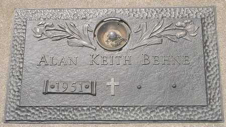 BEHNE, ALAN KEITH - Clinton County, Iowa | ALAN KEITH BEHNE