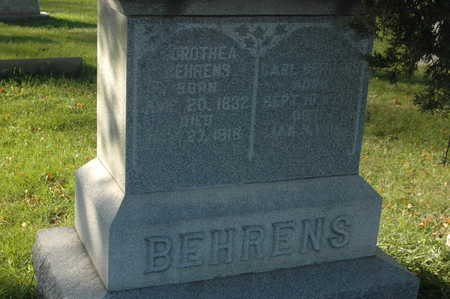 BEHRENS, CARL - Clinton County, Iowa | CARL BEHRENS