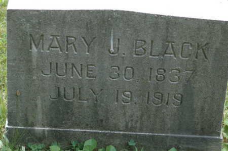 BLACK, MARY J. - Clinton County, Iowa | MARY J. BLACK