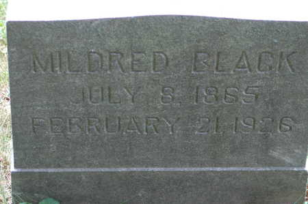 BLACK, MILDRED - Clinton County, Iowa | MILDRED BLACK