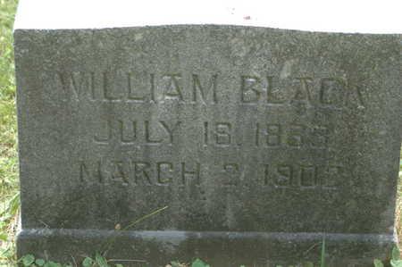 BLACK, WILLIAM - Clinton County, Iowa | WILLIAM BLACK