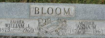 BLOOM, WILLIAM J. - Clinton County, Iowa | WILLIAM J. BLOOM