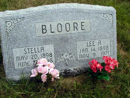 BLOORE, STELLA - Clinton County, Iowa | STELLA BLOORE