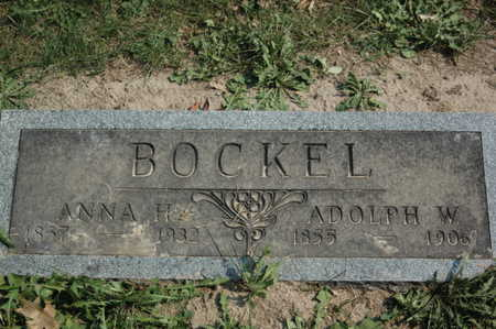 BOCKEL, ADOLPH W. - Clinton County, Iowa | ADOLPH W. BOCKEL