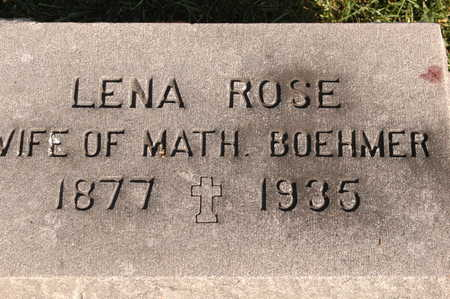 ROSE BOEHMER, LENA - Clinton County, Iowa | LENA ROSE BOEHMER