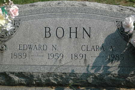 BOHN, EDWARD - Clinton County, Iowa | EDWARD BOHN