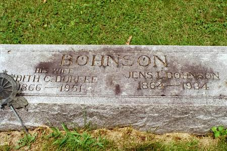 BOHNSON, JENS L. - Clinton County, Iowa | JENS L. BOHNSON