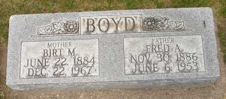 BOYD, FRED A. - Clinton County, Iowa | FRED A. BOYD