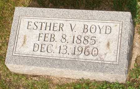 BOYD, ESTHER V. - Clinton County, Iowa | ESTHER V. BOYD