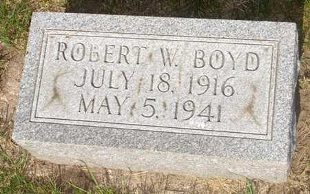 BOYD, ROBERT W. - Clinton County, Iowa | ROBERT W. BOYD