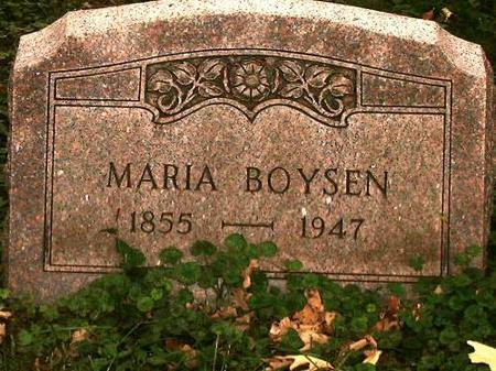 BOYSEN, MARIA - Clinton County, Iowa | MARIA BOYSEN