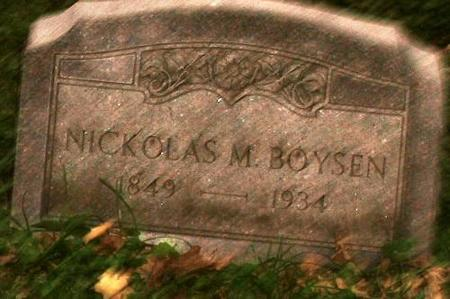 BOYSEN, NICK - Clinton County, Iowa | NICK BOYSEN