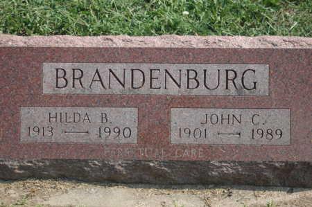 BRANDENBURG, HILDA B. - Clinton County, Iowa | HILDA B. BRANDENBURG